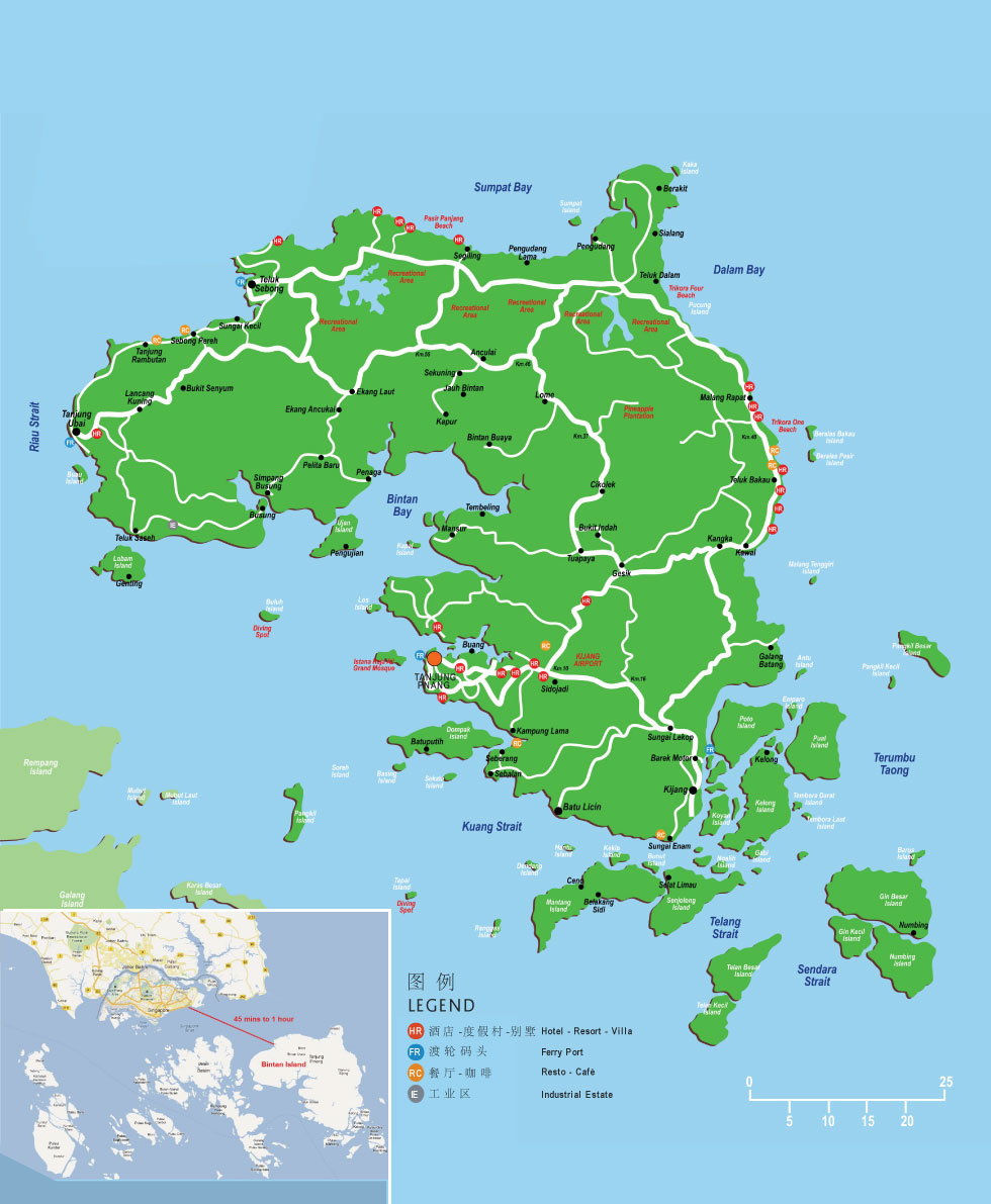 详细了解这个著名的城市,民丹岛周边的旅游胜地和国家以及如何到达那